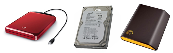 Seagate hard disk drives