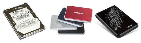 Toshiba hard disk drives