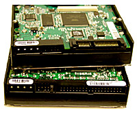 PATA and SATA hard drive interfaces