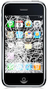 A Smashed iPhone