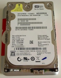 Western Digital WD10TMVW HDD
