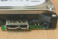 Western Digital WD10TMVW HDD interface port
