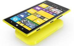 A Nokia Lumia smart phone