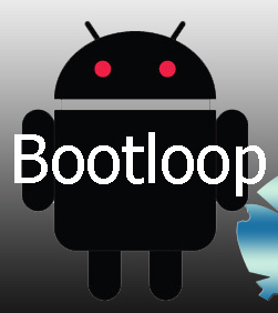 Android device stuck in boot loop