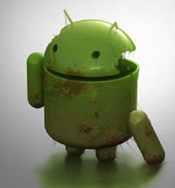 Broken Android