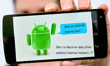 recover deleted data from Android device
