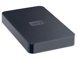 500GB WD Elements hard drive