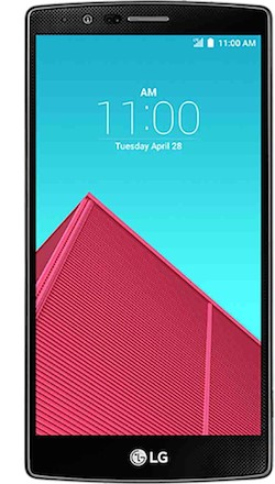 LG G4 smartphone - front
