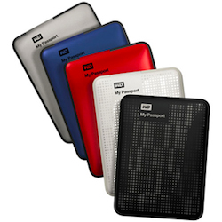 Several WD external hard drives