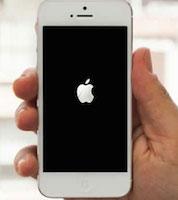 iPhone stuck on Apple logo