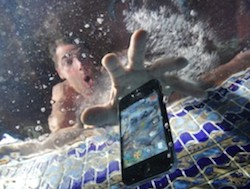dropped phone in water - help!