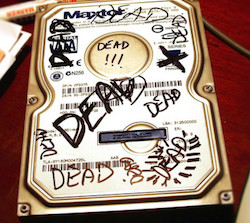 dead hdd