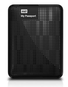 WD Passport hard drive