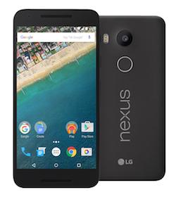 LG Nexus 5x phone