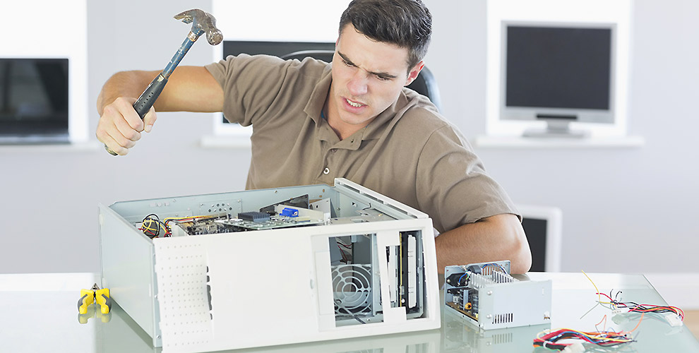 Because data recovery is highly specialised, local computer shops are clueless about it.