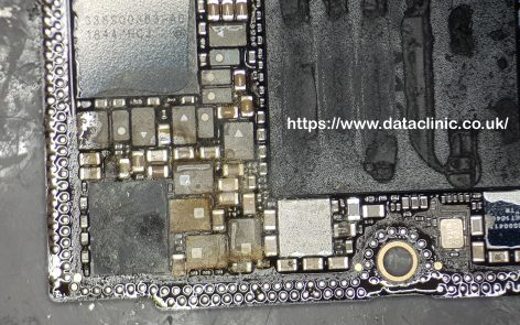 Data Recovery from water damaged iphone xs