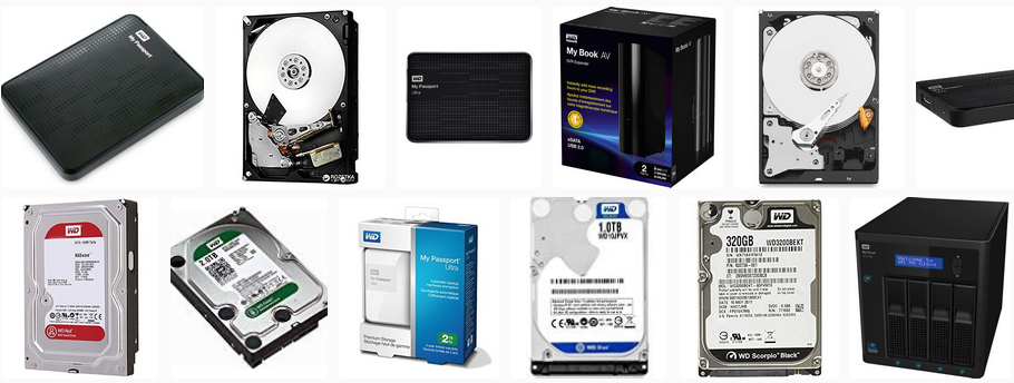 WD hard drives. Slow response data recovery