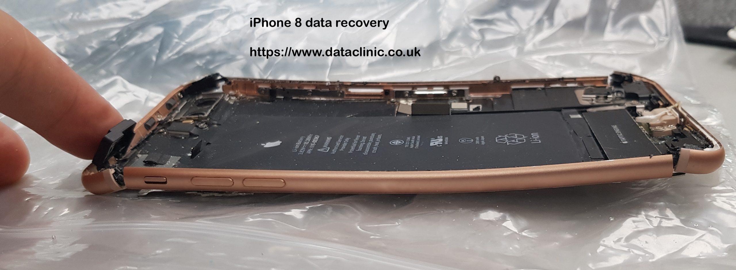 damaged iphone 8