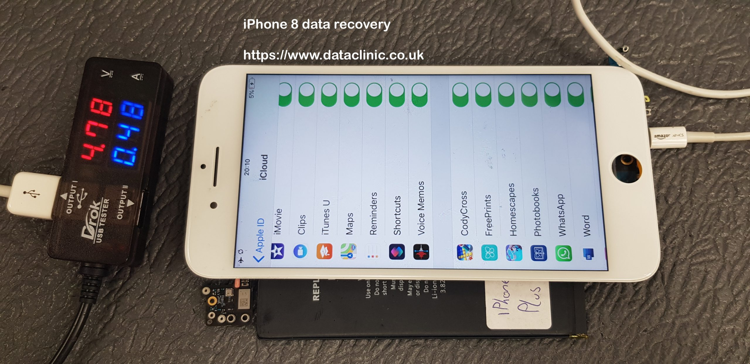 recover damaged iphone