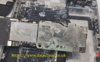 Liquid damaged phone recovery