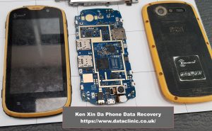 Ken Xin Da phone data recovery