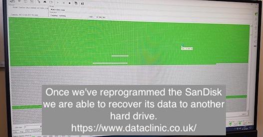 SanDisk SSD imaging