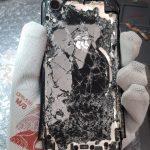 Badly Smashed XR